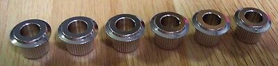TUNER ADAPTER BUSHINGS Back to Vintage Size Post NICKEL