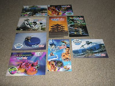 Wet n Wild Orlando Florida 9 Postcards 215mm x 140mm - (Now Permanently Closed)