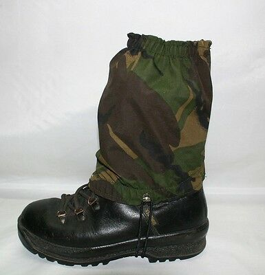 Gore-tex camo Waterproof breathable ankle gaiters camouflage