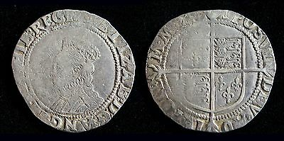 Great Britain England Elizabeth I 1 One Shilling 1601-1602 English Hammered Coin