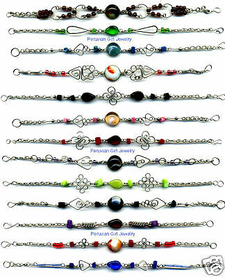30 Hand Made Bracelets Peruvian Jewelry Wholesale Lot