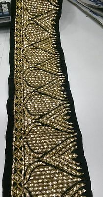 9 Meter Latest bollywood Indian Lace Trim Ethnic with  Stone Zari work