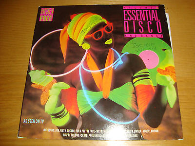ESSENTIAL DISCO AND DANCE- v/a- LP 1984 NOUVEAU MUSIC UK / TOP AUDIO !