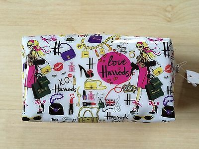 Harrods Make Up Bag New With Tag