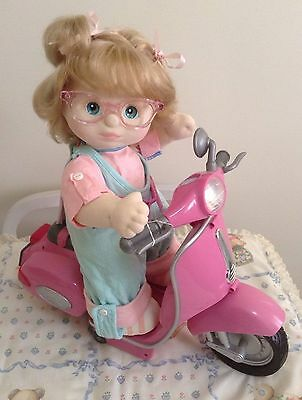 BABY BORN Pink Remote Controlled SCOOTER ~ My Child/CPK ~ working + manual ~ EC