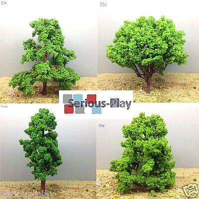 Serious-Play Large Model Trees ~ Oak Ash Elm Railway Scenery Warhammer 12.5-20cm