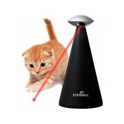Interactive Cat Toy Laser Electronic Automatic Play Exercise Agility Activity