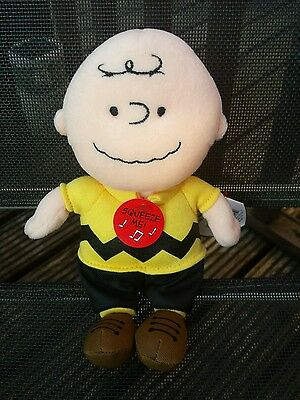 Charlie Brown Ty Plush Toy