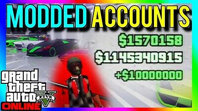 GTA 5 Modded Account (PS3) *NO BYPASS*
