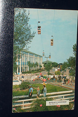 Butlins Minehead M28 The Chair Lift Old Holiday Camp Postcard