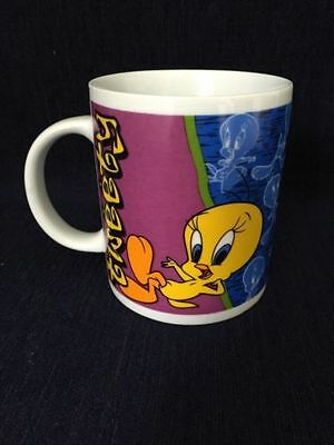 Looney Tunes Warner Bros. Tweety Bird Mug 1999