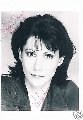 Anita Louise Combe Thetare and TV Actress Hand Signed Photograph 10 x 8