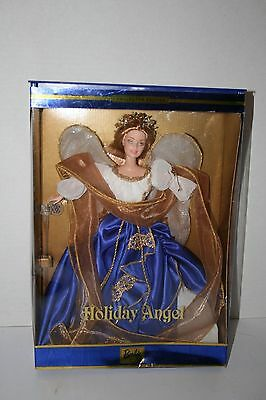 2000 Barbie Holiday Angel, Blue Gown - new in box