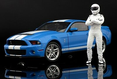 The white STIG (2) Figure for 1:18 Kyosho BMW M5 top gear VERY RARE!