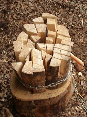 Kindling Making Tool To Use With A Splitting Axe