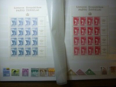 Lithuania Litauen Lietuva 1990 MNH collection plus Central and phone cards