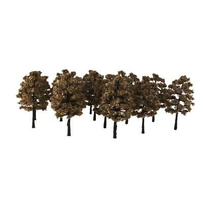 20pc Model Trees 1:100 Gauge HO OO Architecture Diorama Street Train Scenery