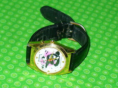 PEPE LE PEW & PENELOPE Armitron Wrist WATCH Wristwatch Musical The Looney Tunes