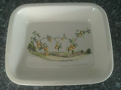 Wade porcelain cookware country harvest collection oven dish