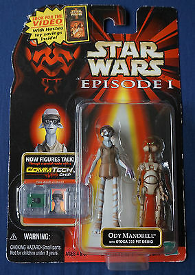 "Ody Mandrell with Droid / Star Wars / Episode 1 / 3.75"" Action Figure"