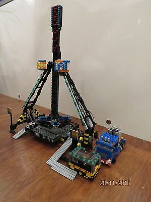 "lego loop fighter ""No Limit"" fairground ride like ferris wheel with power func"