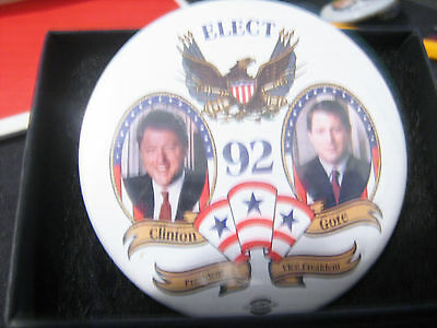 1992  Political Campaign Button Pin