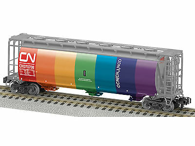 AF 6-48639 S Scale Canadian National Union Pacific Heritage Cyl Hopper MINT