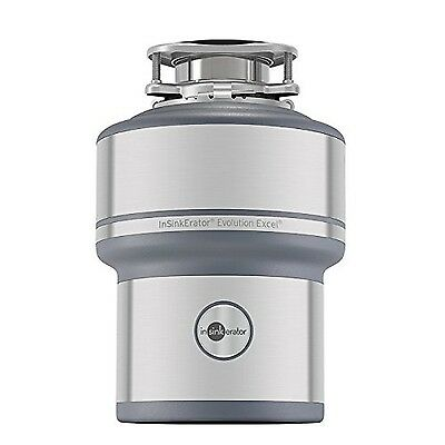 InSinkErator Evolution Excel 1.0 HP Household Garbage Disposer New