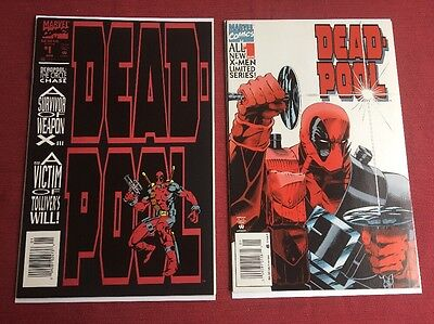 Deadpool The Circle Chase #1 All New X-Men Lmtd Series #1 Post NM 98 HIGH GRADE
