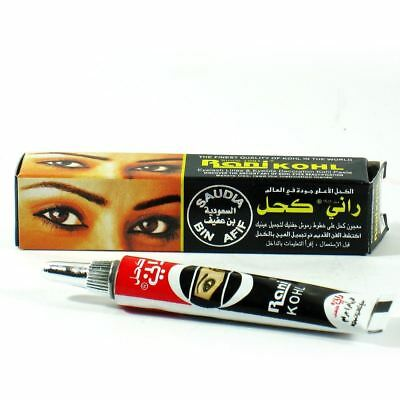 Original Rani Kohl Black Eyeliner Kajal Tube Finest Quality of Kohll from Saudi