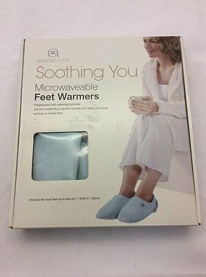 Aroma Home Soothing You Feet Warmer, One Size, Sky Blue