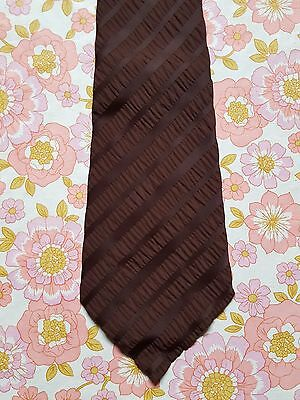 Vintage MENS TIE retro 1950s 1960s 1970s HOLLY GREEN MADE IN AUSTRALIA b