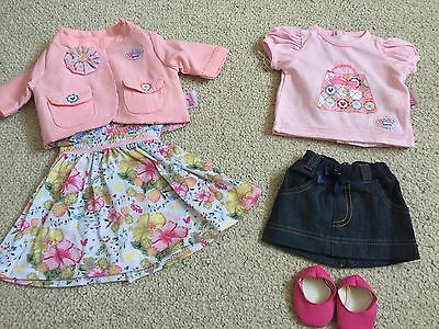 Baby Born Dolls Summer Deluxe Classic Outfit  ---New Without Box