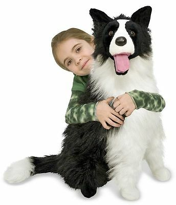 Border Collie - Dog & Puppy Stuffed Animal by Melissa & Doug (4868)