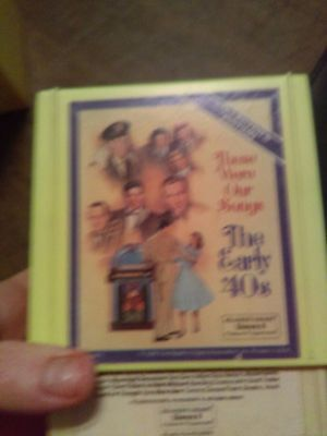 Vintage 8 Track Tape Set The Early 40S Collection Edition & Jim Nabors