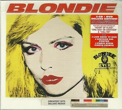 Still Sealed CD Box Set - BLONDIE - Ghosts Of Downloads / Greatest Hits Deluxe