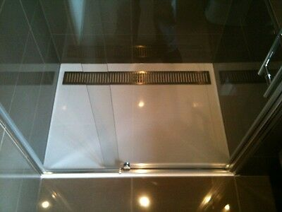 NEW! SELF-SUPPORT Shower base SMC METAL GRATE 1200x900x40mm