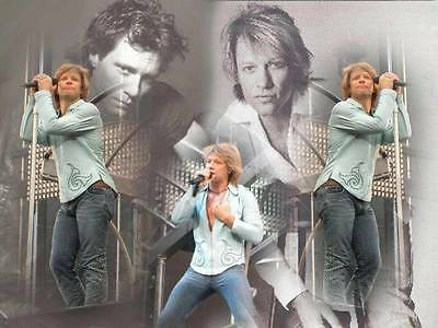 NEW,JON BON JOVI HOODED SWEATSHIRT, many pic options