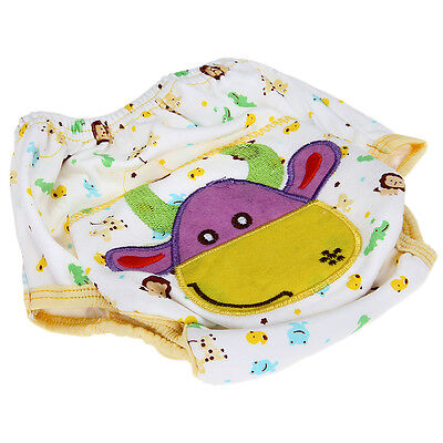 Baby Infant Cloth Diaper Nappy cover Pants Waterproof Cow Print Breathable TPU