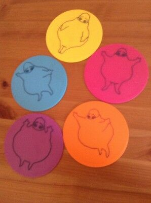 Boohbah stencils/ Rubbings