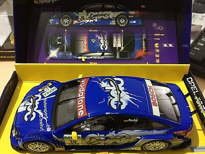 C2592A Scalextric Opel Vectra Gts V8 Dtm Slot Car 1:32 Scale Limited Edition