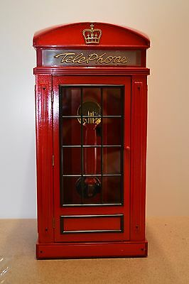 1930 Phone Booth Design Wooden Cabinet Telephone, Unused.