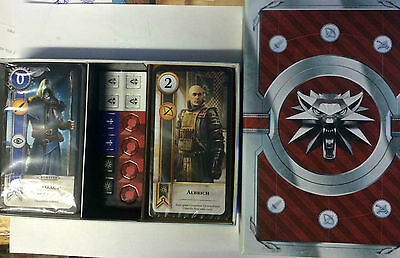 2x MAZZO DI GWENT THE WITCHER 3 WILD HUNT BLOOD AND WINE LIMITED EDITION NUOVO