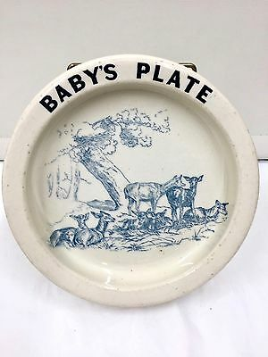 Early Carlton Ware Babys Plate