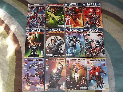 Iron Man V3 N° 1 Au 12 Collection Complete Marvel Panini Comics .