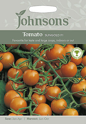 Johnsons Seeds Tomato Sungold F1 Seed