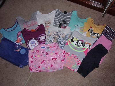 Girl's clothing bulk lot - 16 pieces - Winter - Size  5