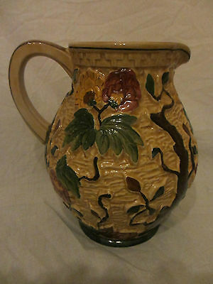 H J Wood Indian Tree Large Jug Vase Good Condition