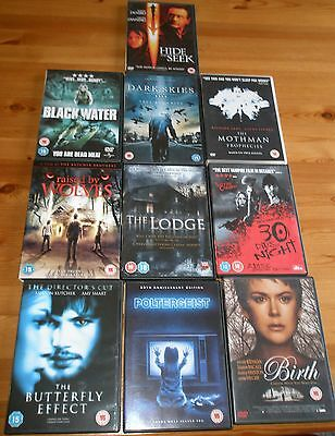 10 x HORROR DVD BUNDLE