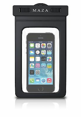 Mobile phone pouch dry bag case , waterproof cover pouch Iphones, Black